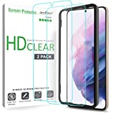 amFilm (2 Pack) Screen Protector for Samsung Galaxy S21 Plus (6.7 Inch), Case Friendly (Easy Install) Hybrid Film Compatible