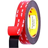 Double Sided 3M Adhesive Tape,1 inch Width x 10 FT Length, 3M VHB Heavy Duty Mounting Tape, 3M VHB Waterproof Foam Tape, for