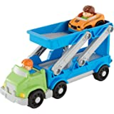 Fisher-Price Little People Ramp'n Go Carrier Playset