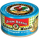 Ayam Brand Salmon with Wasabi Mayonnaise | High Quality Premium Salmon | Intense Flavour | For Lunch | Protein & Omega 3 | Ha