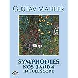 Mahler: Symphonies Nos 3 and 4 in Full Score