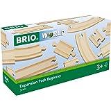 Brio BRI33401 Expansion Pack Beginner, 11 Pieces Train Set