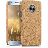 kwmobile 対応: Motorola Moto X4 ケース - コルク スマホカバー - コルク製 携帯 保護ケ…