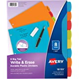 Avery Big Tab Write 8 Tab 1-Pack
