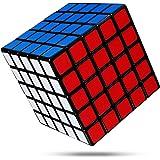 FAVNIC 魔方 キューブ4x4x4【6面完成攻略書付き】競技用 立体パズル 知育玩具 (滑り止め5x5)