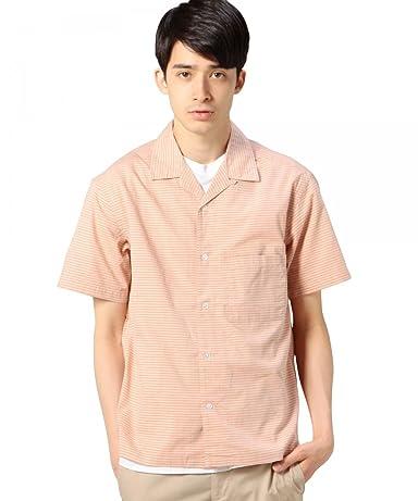 Stripe Camp Shirt 1216-149-2085: Sherbet