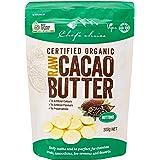(300g~3kg)シェフズチョイス オーガニックローカカオバター 非加熱 未脱臭 コールドプレス 有機JAS ACO USDA kosher (300g)