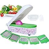 LHS Vegetable Chopper,Pro Onion Chopper Slicer Dicer Cutter - Cheese & Veggie Chopper - Food Chopper Dicer with 5 Blades