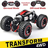 NQD RC Car Off-Road Vehicles Rock Crawler 2.4Ghz Remote Control Car Monster Truck 4WD Dual Motors Electric Racing Car, Kids T