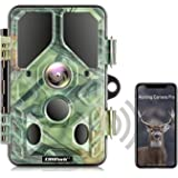 Campark WiFi Bluetooth Trail Camera 20MP 1296P with 940nm IR LEDs Night Vision Motion Activated IP66 Waterproof for Wildlife