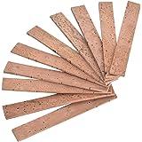 Meideal Clarinet Neck Joint Cork Natural Cork Clarinet Parts Instrument Accessories Kits 10Pcs