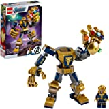 LEGO Marvel Avengers Thanos Mech 76141 Cool Action Building Toy for Kids with Mech Figure and LEGO Thanos Minifigure