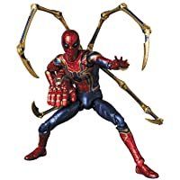 MAFEX マフェックス No.121 AVENGERS END GAME IRON SPIDER (ENDGAME Ver.)