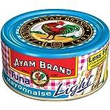 Ayam Brand Tuna Mayonnaise Light | Wild Caught Premium Tuna | With Picked Vegetable | Protein, Omega 3, Vitamin E, B6 & B12 |