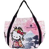 ハローキティ バッグ トートバッグ 大きめ Hello Kitty レディース エコバック バルーントートバッグ A4 縦 横 猫