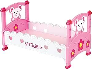 メルちゃん おせわパーツ メルちゃんのくまさんベッド
