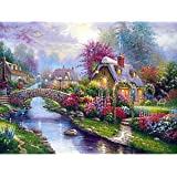Diamond Painting Kits for Adults Kids 5D DIY Full Drill Crystal Rhinestone Embroidery Cross Stitch Arts Craft Canvas Wall Dec