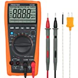 Proster Auto-Ranging Digital Multimeter 6000 Counts and 2000uF Digital Multimeters Meter Amp Ohm Volt Meter Multi Tester with