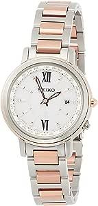 [セイコーウォッチ] 腕時計 ルキア ダイヤ入りダイヤル チタンモデル ラッキーパスポート SSQV034 レディース シルバー
