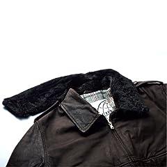 Valstar Valstarino Sheep Leather Aviator: Dark Brown