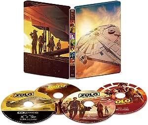 ハン・ソロ/スター・ウォーズ・ストーリー 4K UHD MovieNEX スチールブック(数量限定) [4K ULTRA HD+3D+Blu-ray+デジタルコピー+MovieNEXワールド]