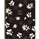 """2021 Planner - 2021 Weekly Monthly Planner with to Do List, 8"""" x 10"""", January 2021 - December 2021, Floral Cover with Twin-Wi"""