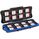 Nintendo Switch Game Card Case- Younik Game Card Storage Box with 16 Game Card Slots and 16 Micro SD Card Holders for Nintend