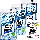 【Amazon.co.jp限定】 メンズビオレ ボディシート 28枚入 × 3個 + おまけ付き 液たっぷり 乾きにくい…