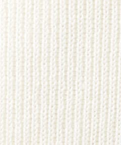 Wool Rib Turtleneck Sweater 1213-106-3182: White