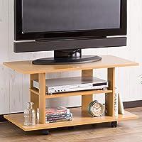 システムK テレビ台 テレビボード 32型対応 幅80cm キャスター付き ナチュラル