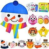 ZMLM Arts Crafts Toy Gift: Paper Plate Kit for Kids DIY Art Supplies Project Children Preschool Classroom Party Favor Activit