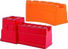 Hape E4081 Great Castle Walls Beach Toy (2 Piece) Red