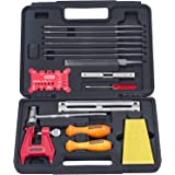 Oregon Chainsaw Chain Sharpening Kit with Hard Case - Contains Files, Handles, Depth Gauge, Stump Vise, Felling Wedge, and Mo