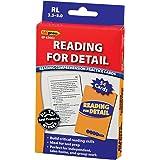 Edupress Reading Comprehension Practice Cards, Reading for Detail, Blue Level (EP63062)