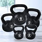 Everfit Kettlebell 16KG/22KG Kettlebell Set Weight Toning Home Gym Fitness Exercise Weight-Lifting Workout Training Squat Pre