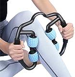 VITOP マッサージローラー スティックトリガーポイントローラーマッサージ 筋膜 首 腰 足 ふくらはぎ リリースマッ…