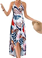 STYLEWORD Women's Sleeveless Casual Cotton Flare Dress