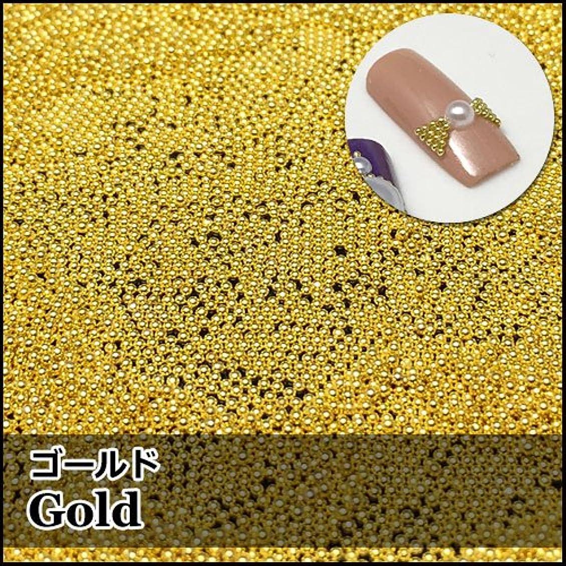 モジュール標準楽観的メタリックブリオン「ゴールド」1mm×3g入り(約600粒) [並行輸入品]