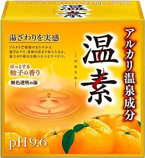 【医薬部外品】温素 入浴剤 柚子の香り [15包入]