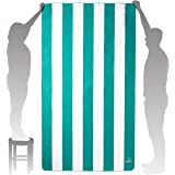 Wise Owl Microfiber Beach Towel - Extra Large Quick Dry Beach Towel Oversized, Super Absorbant Beach & Swim Towels - 7ft x 4f