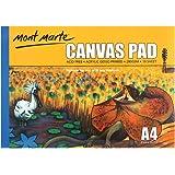 Mont Marte Canvas Pad A4 280gsm 10 Sheets