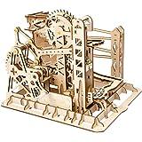 Robotime リフトコースター 3D立体パズル ギア 手回し レーザー 木製 クラフト キット プレゼント おもちゃ オモチャ 知育玩具 男の子 女の子 大人 入園祝い 新年 ギフト 誕生日 クリスマス プレゼント 贈り物(リフト)
