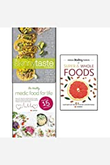 skinnytaste cookbook, hidden healing powers of super & whole foods and healthy medic food for life 3 books collection set - light on calories, big on flavor Paperback