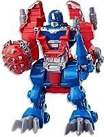 "PLAYSKOOL Heroes - Transformers - Rescue Bots 10"" Optimus Prime Figurine - Kids Toys - Ages 3+"