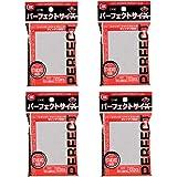 KMC NEW カードバリアー100 パーフェクトサイズ ニューパッケージ(4個セット)