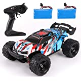 REMOKING RC Car,36KM/H High Speed RC Truck,1/18 Scale 2.4Ghz Remote Control Racing Car Toy ,4X4 Radio Controlled Off-Road Car