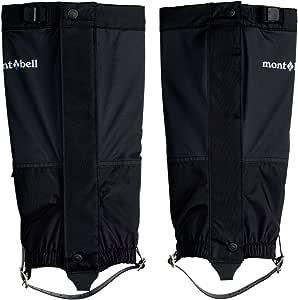(モンベル)mont-bell GORE-TEX アルパインスパッツ イージーフィット 1129435 BK ブラック S