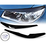 Ozeparts® Head Light Eyelids Eyebrows Eye Lid Eyelid Eyebrow Compatible With Holden Commodore VF Series 1 & 2 2013~2018 (SS S