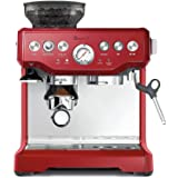 Breville BES870CRN the Barista Express™ Coffee Machine - Cranberry