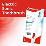 Colgate Pro Clinical 250+ Electric Rechargeable Toothbrush with Soft bristles White 1 Pack